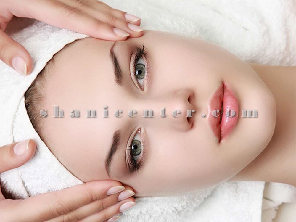 پاکسازی پوست صورت فیشیال